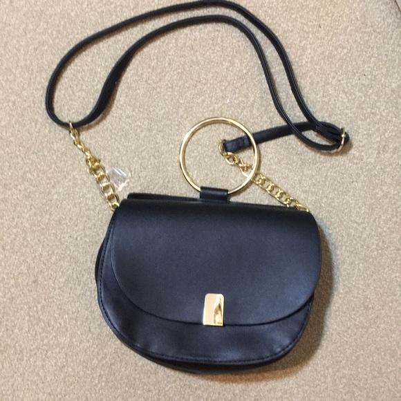 9da45a80b9c49 Primark Bags | Crossbody Bag Black Gold Tophandle Nwt | Poshmark